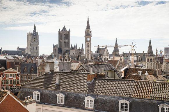 Het historische stadscentrum van Gent.
