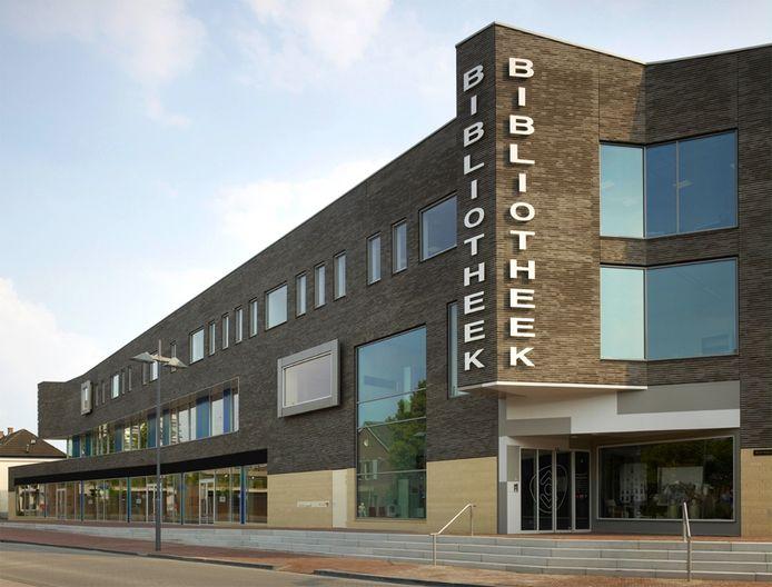 De bibliotheek in Helmond.