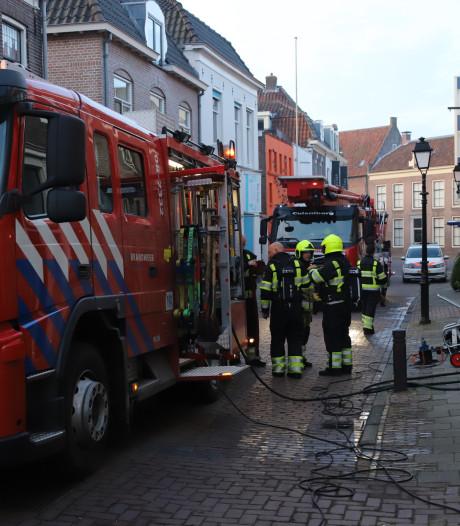 Wasmachine Culemborg in brand: twee gewonden