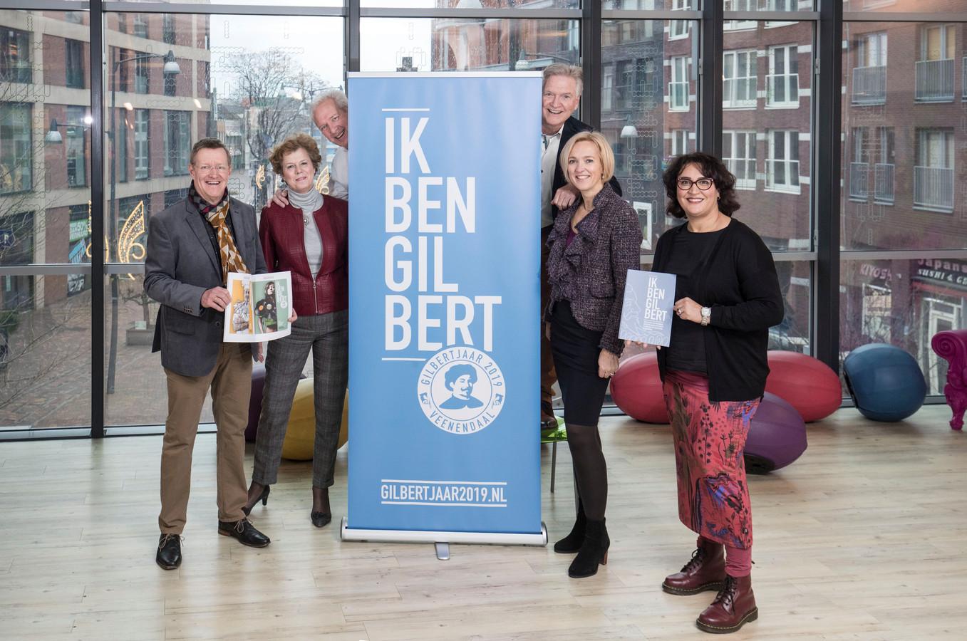 Bestuursleden van stichting Gilbert van Schoonbeke.