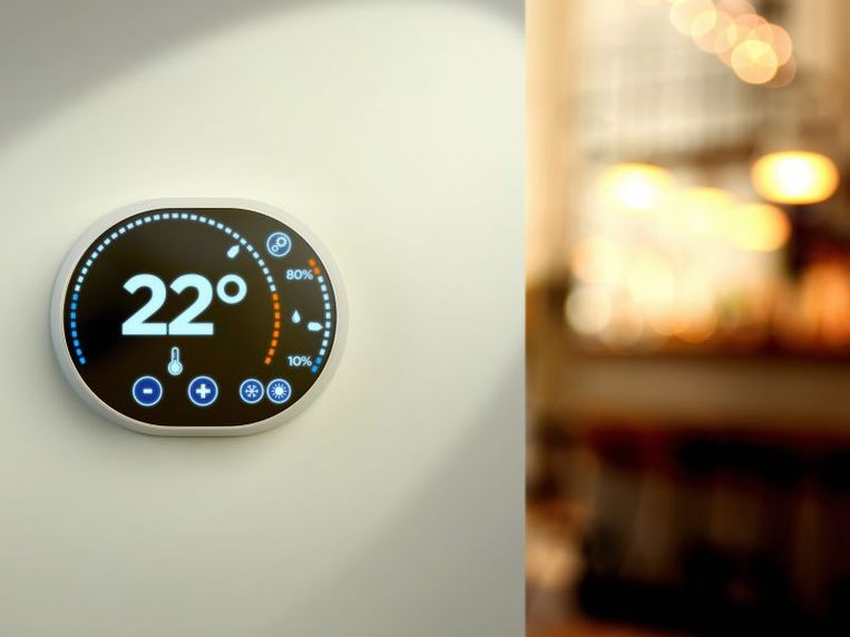Slimme thermostaten bieden extra besparingsmogelijkheden. Ze leren jouw verwarmingsgewoontes kennen en stemmen jouw energieverbruik hierop af.