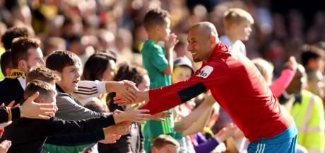 Heurelho Gomes staat in de finale van de FA Cup voor zijn laatste kunstje