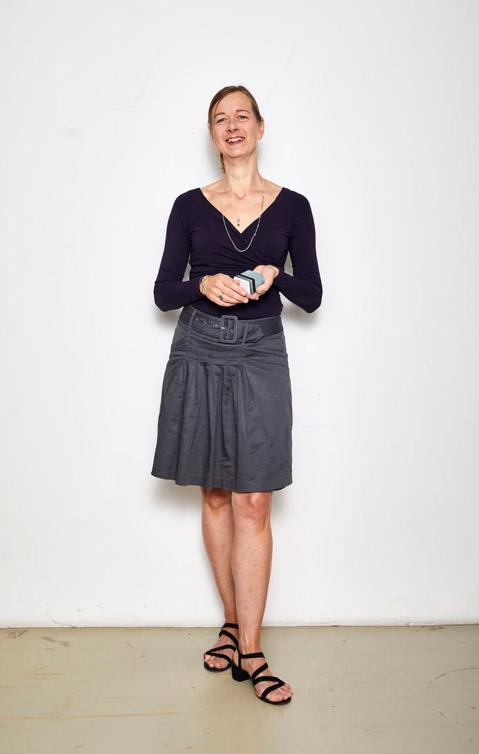 Sieradenontwerpster Carla van Beurden: ,,Alle ontwerpen maak ik uit mijn hoofd.''