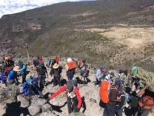Eén afvaller bij beklimming Kilimanjaro door groep uit Gemert