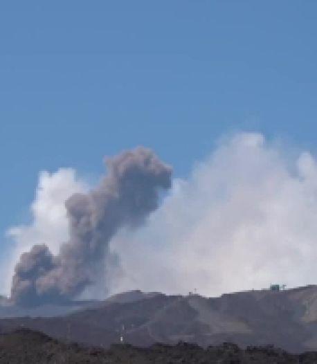 L'Etna connaît un regain d'activité et émet des nuages de cendres