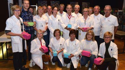 Dokter en verpleegsters kregen pralines