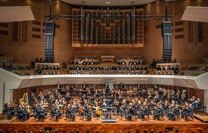 De Philharmonie Zuidnederland in actie.