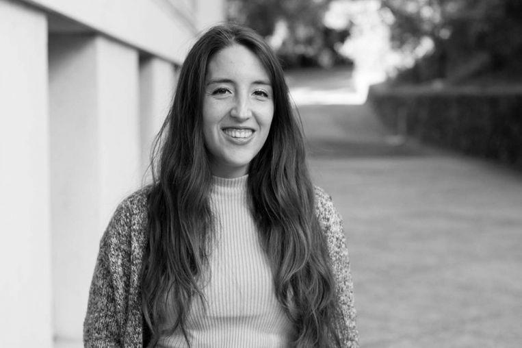 Caroline Figueroa, arts-onderzoeker aan University of California, Berkeley. Haar onderzoek gaat over digitale mentale gezondheidszorg onder kwetsbare groepen. Beeld
