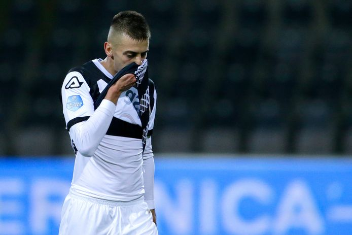 Adrian Szoke of Heracles Almelo during VVV-Venlo - Heracles Almelo NETHERLANDS ONLY COPYRIGHT SOCCRATES/BSR