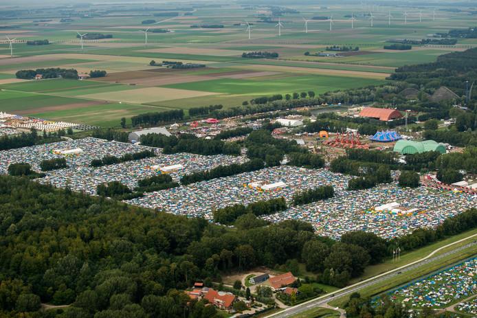 Muziekfestival Lowlands vond vorig weekeinde plaats in Biddinghuizen.