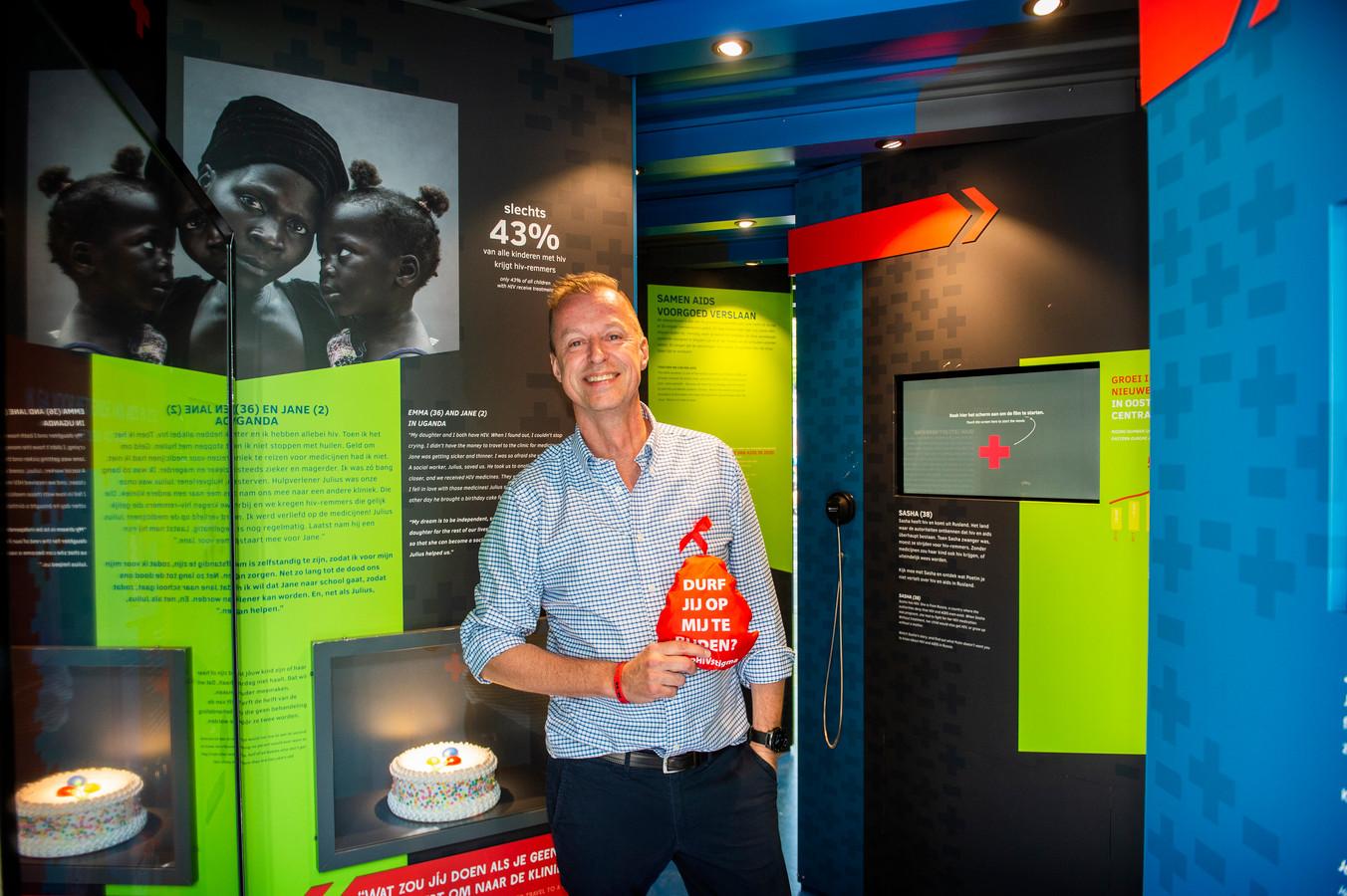 Marnix Kemme van stichting Hiv Portaal Rotterdam.
