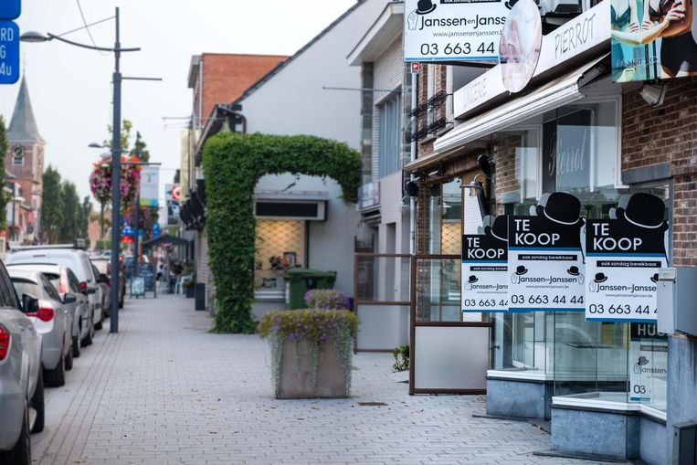 Tremelo kende altijd al een levendig handelscentrum. De jongste jaren neemt ook hier echter de leegstand toe.