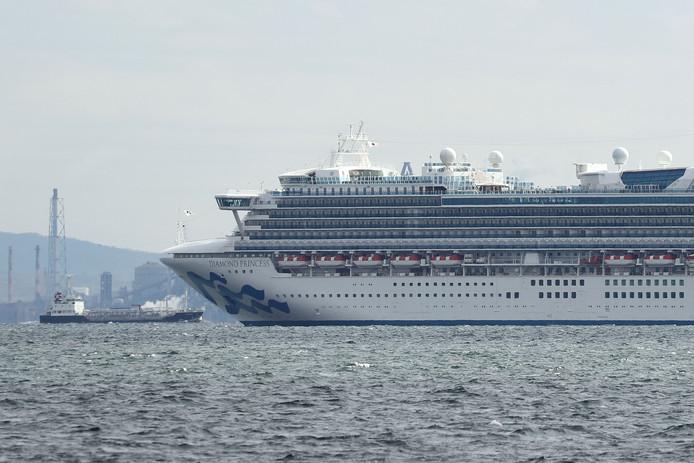 Het cruiseschip Diamond Princess ligt voorlopig in quarantaine voor de haven van Yokohama, met 3000 mensen aan boord. Een passagier die in Hong Kong opstapte blijkt besmet met het virus.