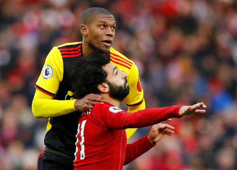 Christian Kabasele (Watford) is een van de spelers die in de portefeuille zit van makelaarsbureau Lian Sports van Fali Ramadani.