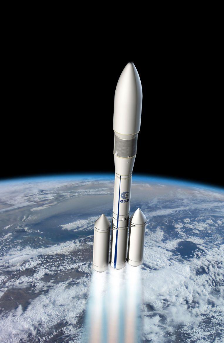 Een ontwerp voor de Ariane-6, uitgebracht door ESA.