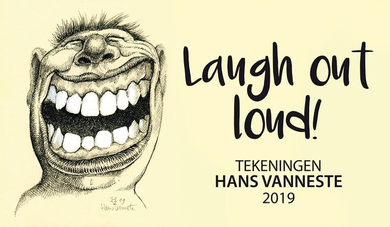 Werk van karikaturist Hans Vanneste.