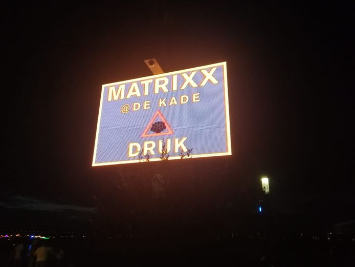 Drukte bij Martrixx at the Park.