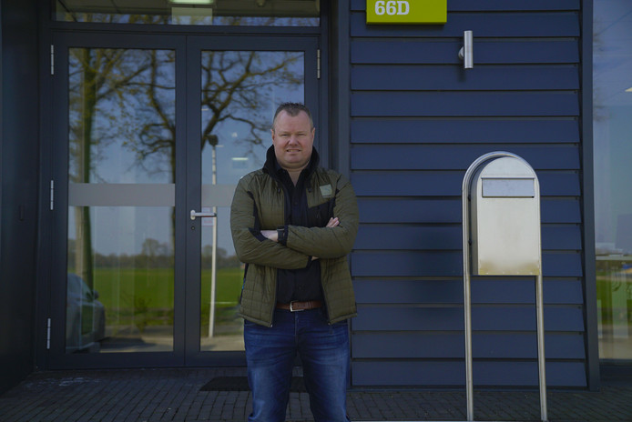Bedrijfsleider Frank Kuiper van W en B Denekamp