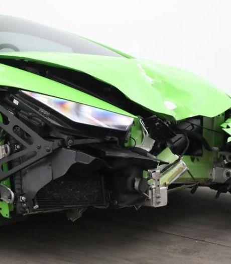 Lamborghini die Dave Roelvink in prak reed staat te koop (met heel ander uiterlijk)