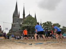 Cloudy beachvolley in Druten