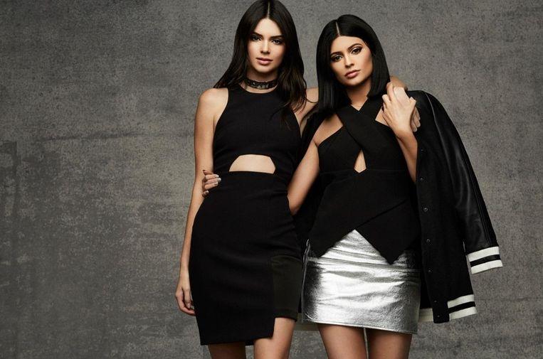Kendall en Kylie Jenner.