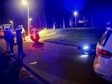 Scooterrijder knalt tegen lantaarnpaal op Vitruviusstraat
