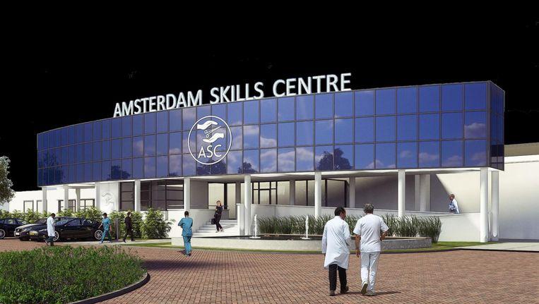 Het VR-trainingscentrum gaat Amsterdam Skills Centre heten. Beeld .