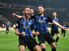 De Vrij helpt Internazionale met fraaie kopgoal aan zege op AC Milan