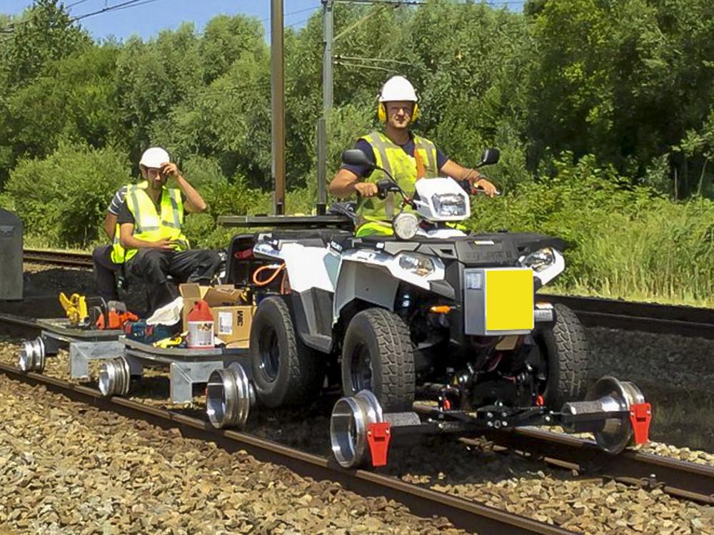 AMT Group is een metaaltechnisch bedrijf en houdt zich onder meer bezig met railroad quads.