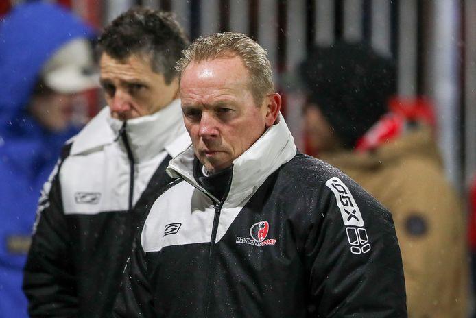 Wil Boessen droop afgelopen vrijdag teleurgesteld af na de 2-0 nederlaag tegen Almere City.
