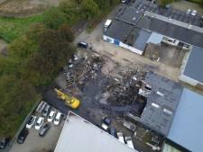 De dag na de allesverwoestende brand in Doetinchem: beelden vanuit de lucht