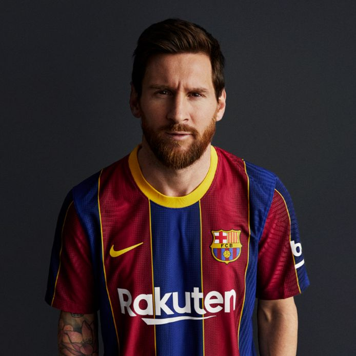 Nieuwe shirt FC Barcelona