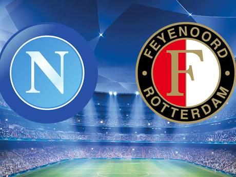 LIVE: Feyenoord met twee spitsen, Kramer op de tribune