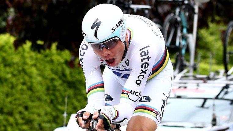 De Duitse tijdrijder Tony Martin ergerde zich aan de gevaarlijke finale van de tweede etappe in Romandië.