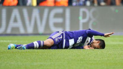 Andy Najar lag bij Anderlecht al bijna twee jaar in lappenmand