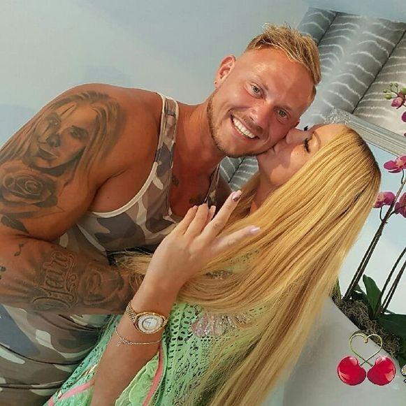 Barbie en haar vriend Jeffrey Lake.