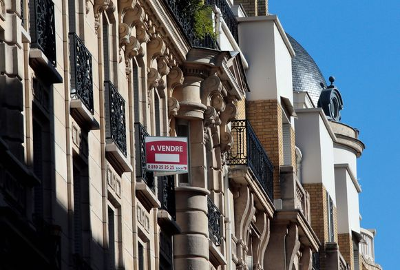 Een appartement in het Parijse 8e arrondissement, het stadsdeel met onder meer de Avenue des Champs-Élysées, staat te koop. (archieffoto)