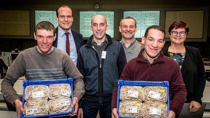 2.000 euro voor eerste kilo's Poperingse hopscheuten