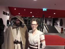 Om 7 uur 's ochtends in de bioscoop voor een lange Star Wars-zit