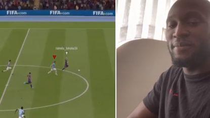 """Romelu Lukaku houdt Belgische eer hoog en verslaat Zwitser Xhaka in FIFA 20-toernooi: """"Op naar de volgende"""""""