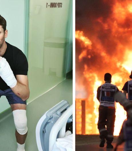 """Romain Grosjean se confie pour la première fois après son terrible accident: """"J'ai vu la mort arriver"""""""