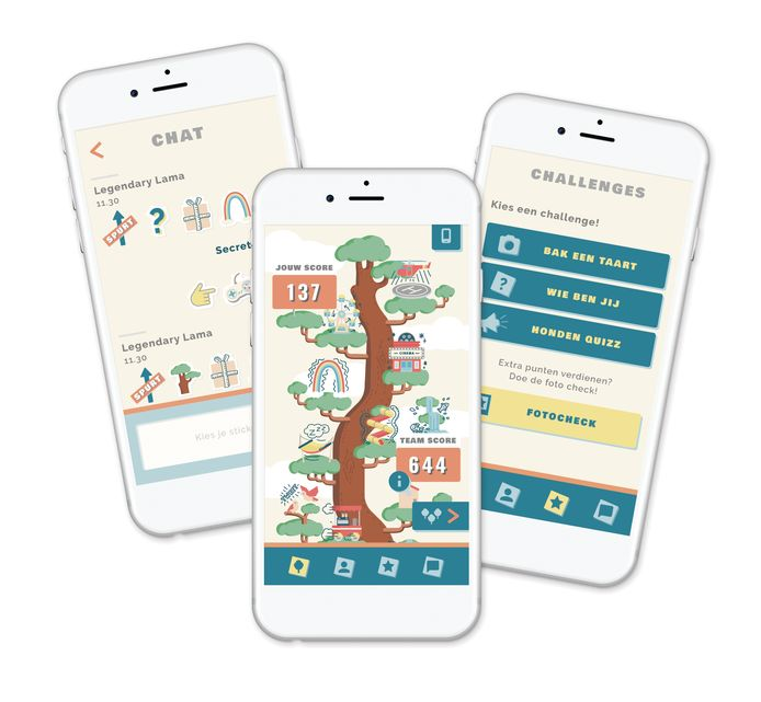 Tilburg University en Erasmus MC-Sophia Kinderziekenhuis lanceren de app Grow It! die jongeren steunt tijdens de coronacrisis. Mei 2020.