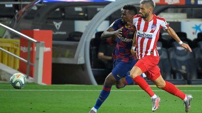 """Carrasco blinkt uit tegen Barcelona: """"Wilden meer, maar kunnen trots zijn op onszelf"""""""