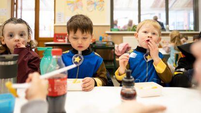 Leerlingen Heist-Goor vieren carnaval met frietjes