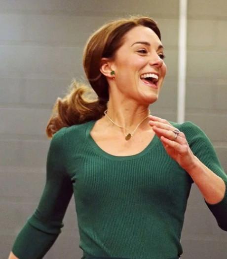 Kate Middleton glamour même en tenue sportive