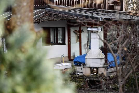 De achtertuin van de woning in Starnberg.