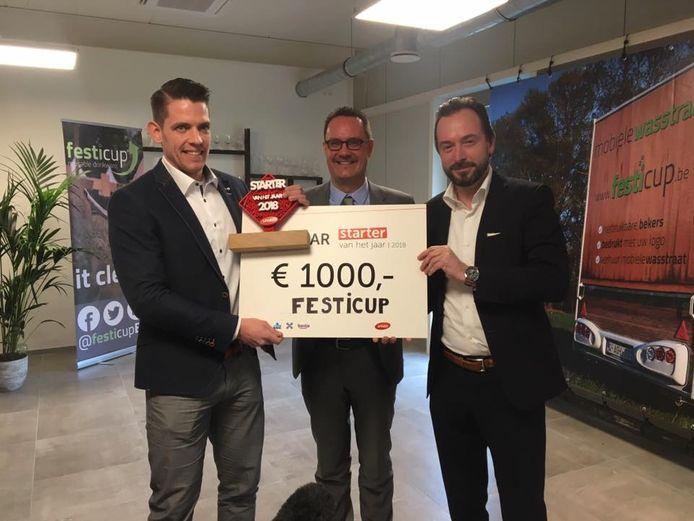 In 2018 werd de Limburger Jozef Plevoets van Festicup verkozen tot 'Starter van het jaar'.