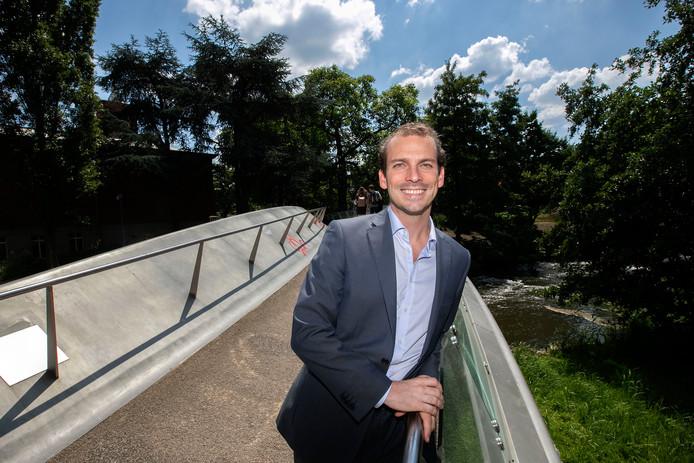 De Eindhovense wethouder Stijn Steenbakkers.