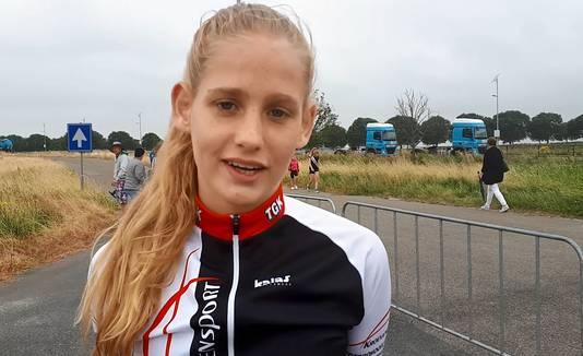 Lotte Dielemans uit Roosendaal van team Kroevensport