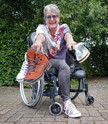 Melissa verloor haar linkerbeen en zit nu met een overschot aan linkerschoenen: 'Wie maakt me los?'
